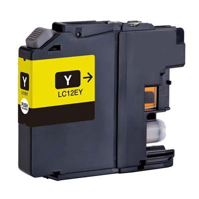 Cartucce Brother lc-12ey-c Compatibili