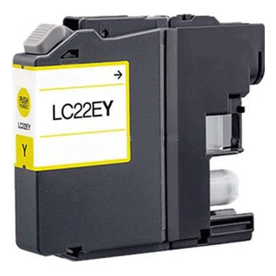 Cartucce Brother lc-22ey-c Compatibili